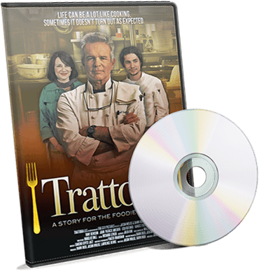 Image for Trattoria Movie DVD Cover. On sale NOW!